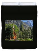 Chapel In The Valley Duvet Cover