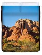 Chapel Of The Holy Cross Sedona Arizona 100 Duvet Cover