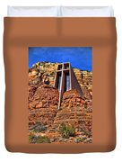 Chapel Of The Holy Cross  Sedona Arizona Duvet Cover