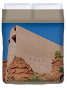Chapel Of The Holy Cross Sedona Az Side Duvet Cover