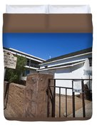 Chapel Of The Immaculate Conception Old Town San Diego Duvet Cover