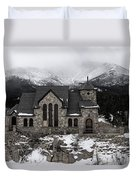 Chapel On The Rock - 3 Duvet Cover