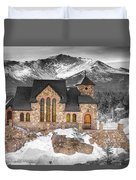 Chapel On The Rock Bwsc Duvet Cover