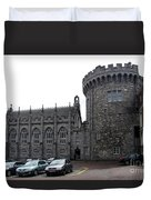 Chapel Royal And Record Tower - Dublin Castle Duvet Cover