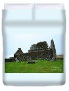 Chapel Ruins At Dunvegan Duvet Cover