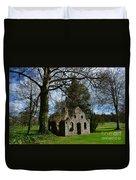 Chapel Ruins Duvet Cover