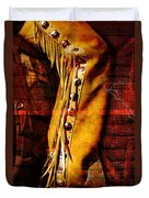 Chaps And Boots Duvet Cover