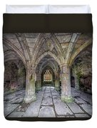 Chapter House Interior Duvet Cover by Adrian Evans