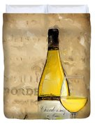 Chardonnay Iv Duvet Cover
