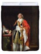 Charles Louis Francois Letourneur 1751-1817 1796 Oil On Canvas Duvet Cover