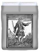 Charles Vane (c1680-1720) Duvet Cover