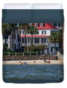 Charleston Beach Duvet Cover