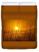 Charleston Beach Sunrise Duvet Cover