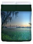 Charleston Bridge View Duvet Cover
