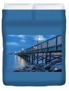 Charleston Harbor 3 Duvet Cover