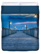 Charleston Harbor Duvet Cover