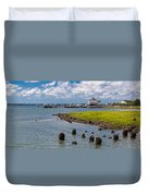 Charleston Harbor Duvet Cover