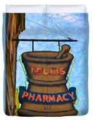 Charleston Pharmacy Duvet Cover