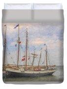 Charleston Ships Duvet Cover