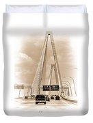 Charleston's Arthur Ravenel Jr. Bridge Duvet Cover