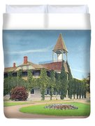 Charlevoix Michigan - The Chicago Club - 1908 Duvet Cover