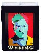 Charlie Sheen Winning Duvet Cover