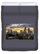 Charlotte Dusk Duvet Cover by Chris Austin