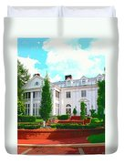 Charlotte Estate Charlotte Nc Duvet Cover by William Dey