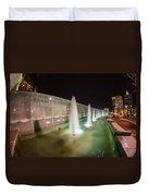 Charlotte Romare Bearden Park Duvet Cover
