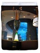 Chart House Restaurant Las Vegas Duvet Cover