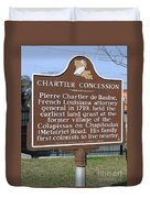 Chartier Concession Duvet Cover