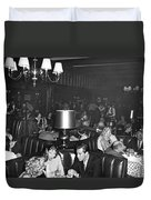 Chasen's Hollywood Restaurant Duvet Cover by Underwood Archives