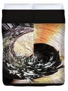 Chasing The Dragon's Tail Duvet Cover