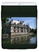 Chataeu Azay-le-rideau Duvet Cover