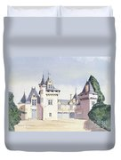 Chateau A Fontaine Duvet Cover