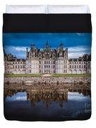 Chateau Chambord Duvet Cover