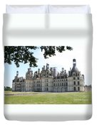 Chateau Chambord - France Duvet Cover