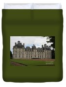 Chateau Cheverney - Front View Duvet Cover