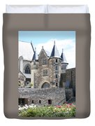Chateau D'angers - Chatelet  Duvet Cover