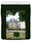 Chateau D'angers - Chatelet View Duvet Cover