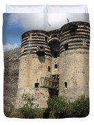 Chateau D'angers - France Duvet Cover
