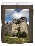 Chateau D'angers - France Duvet Cover