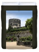 Chateau D'angers Tower Duvet Cover