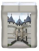 Chateau De Chaumont - France Duvet Cover