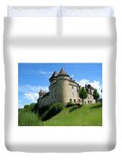 Chateau De Cleron Dans Le Doubs France Duvet Cover