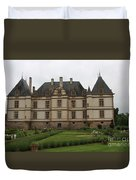Chateau De Cormatin  And Garden - Burgundy Duvet Cover