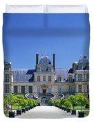 Chateau De Fontainebleau Ile De France Duvet Cover