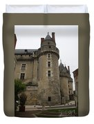 Chateau De Langeais - France Duvet Cover