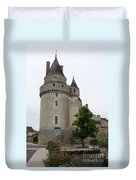 Chateau De Langeais Tower Duvet Cover