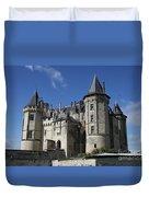 Chateau De Saumur Duvet Cover
